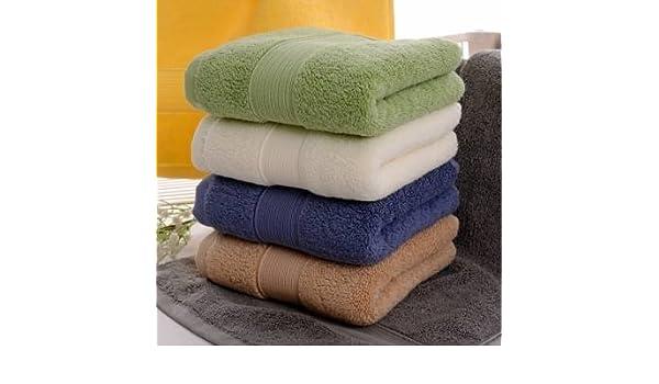 76 x 36 cm algodón toalla de baño toalla absorbente estupendo suave respetuosamente: Amazon.es: Hogar