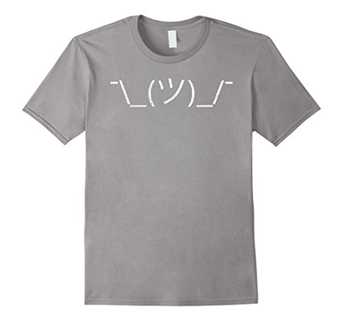 Mens Dunno: Funny ASCII Art T-Shirt, Great Gift For Gamers, Geeks XL (Ascii Art Halloween)