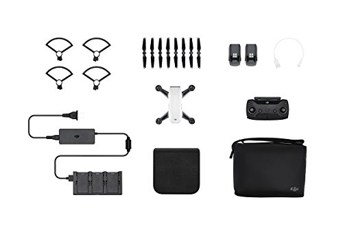 DJI Spark, Fly More Combo, Alpine White