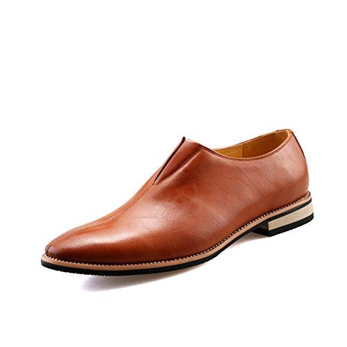 Zapatos de verano/Zapatos casuales de negocios/Zapatos de los hombres británicos populares marrón