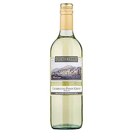 Portobello Catarratto Pinot Grigio 75cl (paquete de 6 x 75 cl)