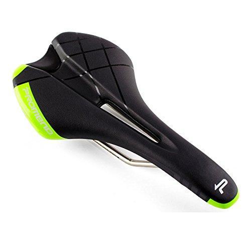 Bike Saddle Fashion Bike Seat for Road bike Fixed Gear Bike MTB Mountain Bike, Bicycle Saddle Comfort Cycling Seat Cushion Pad (Green) (Green Bike Mountain Seat)