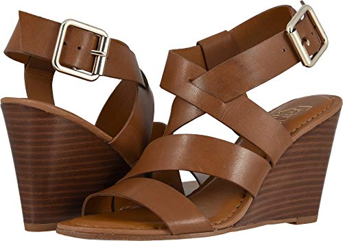 3f2b22e8e8f Franco Sarto Women s YARA Wedge Sandal Lt Brown 7 M US available in ...