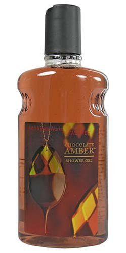 - Bath & Body Works Pleasures Chocolate Amber Shower Gel 10 oz