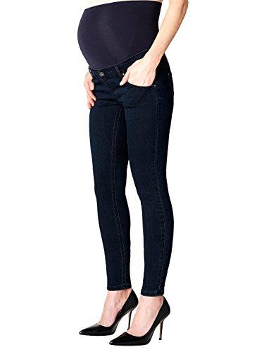 Noppies Jeans Otb Skinny Avi, Vaqueros Premamá para Mujer Azul (Blue Denim C306)