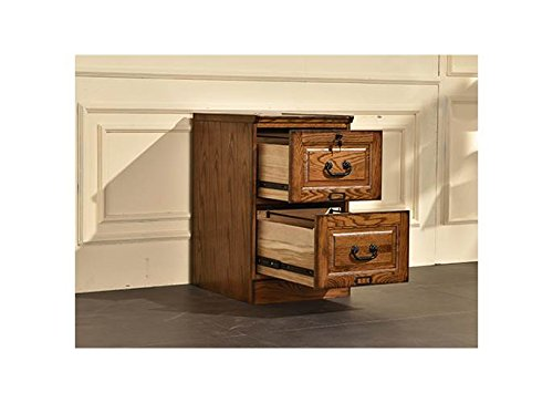 Cabinet Burnished Walnut (2-Drawer File Cabinet in Burnished Walnut Finish)