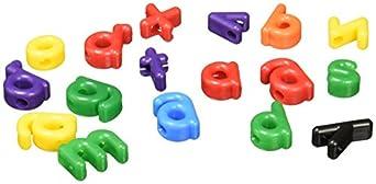 Roylco R2186 Lowercase Manuscript Letter Beads (Pack of 288)