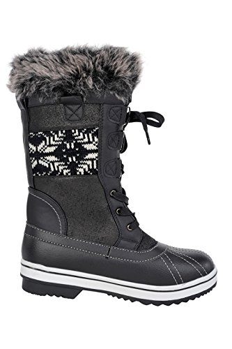 Snow Bishop Northside Women's Black Nordic Boot qwE7E