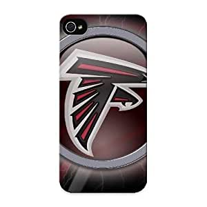 Judasslzzlc Hot Tpye Atlanta Falcons Logo Nfl Case Cover For Iphone 5/5s For Christmas Day's Gifts