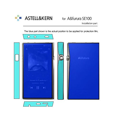 Screen Protector for Astell&Kern A&Futura SE100, AFP Oleophobic Coating Clear Screen Protector and Back and Side Protection Film, Healing Shield Film (Front+Back+Side Film)