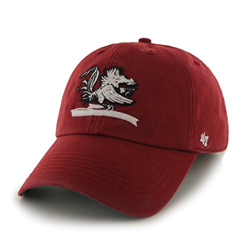 NCAA South Carolina Gamecocks '47 Brand Franchise Fitted Hat, Razor Red, Medium