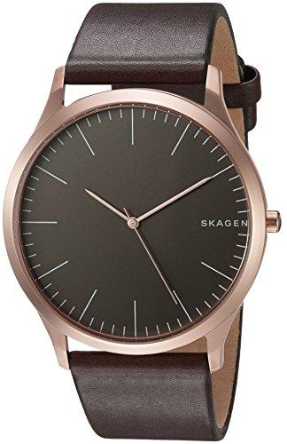 Skagen Men's SKW6330 Jorn Dark Brown Leather Watch
