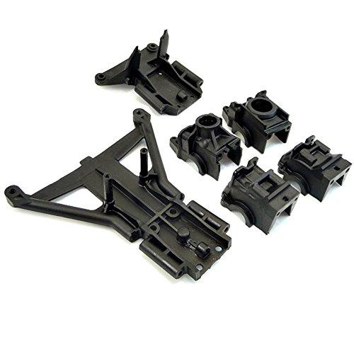 Traxxas 1/10 Slash 4x4 Platinum FRONT & REAR DIFFERENTIAL CASE & BULKHEADS 4x4 Front Differential