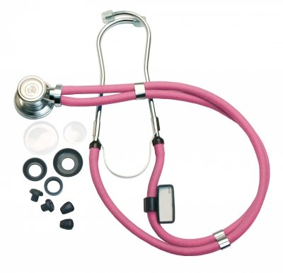 Labtron 602N-P Neon Series Sprague Rappaport-Type Stethoscope, 22