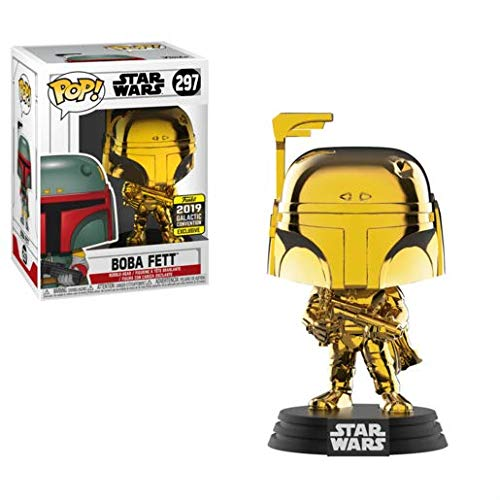 (POP! Funko Star Wars - Boba Fett - 2019 Galactic Convention Exclusive)