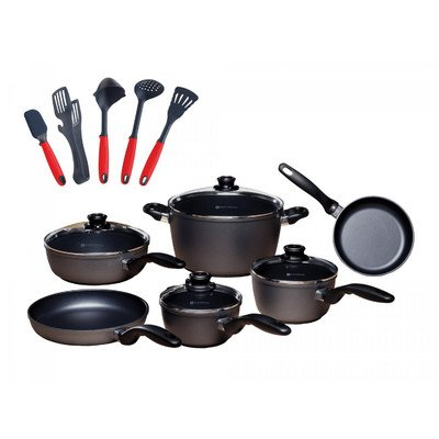 10 Piece Cookware Set with Bonus