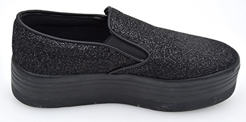 Glitter On Black Campbell Nero Slip Jeffrey tEAxfqw4