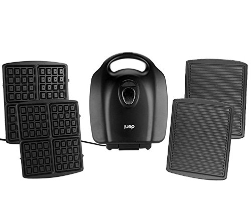 Cook's Essentials Grill Panini Maker and Waffle Maker Combo