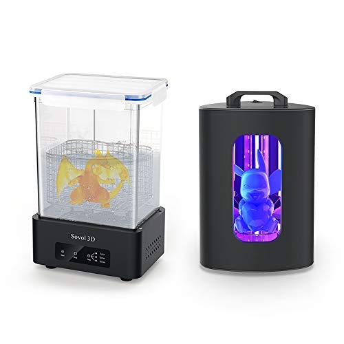 Sovol 3D SL1 Curing Machine & SL2 Washing Machine, Wash & Cure Station, for ELEGOO Mars ANYCUBIC Photon S LCD SLA DLP 3D…
