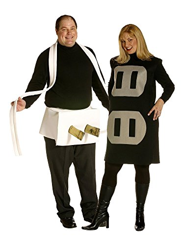 [Plus Size Plug and Socket Couple Costume for Adults] (Plug And Socket Plus Size Costumes)