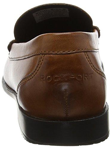 Rockport Classic Loafer Venetian Cognac, Mocassini Uomo Marrone (Cognac)