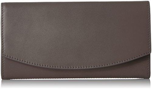 Skagen Continental Flap Wallet Pewter Wallet by Skagen