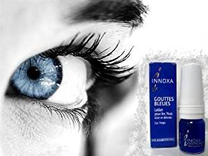Innoxa French Blue Eye Drops Gouttes Bleues 10ml Personal Healthcare / Health - Contacts Eyes Blue For