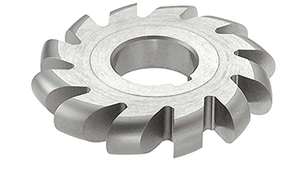 HSS Uncoated Coating Standard Cut 11//16 Width 26 Teeth 4 Cutting Diameter 1-1//4 Arbor Hole KEO Milling 05370 Straight Tooth Milling Cutter,B Style