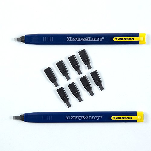 Swanson Tool CP216 Always Sharp Refillable Carpenter Pencil