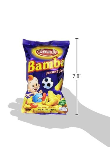 Bamba Peanut Butter Snacks All Natural Peanut Butter PB Corn Puffs, 1.0oz Bag (Pack of 1) by Osem (Image #5)