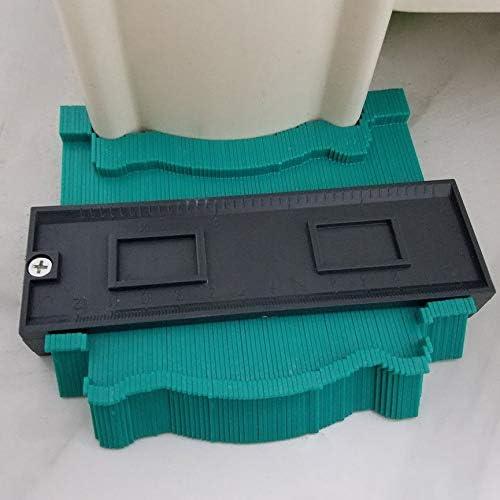 Irregualr Plastic Profile Copy Gauge Contour Gauge Duplicator Standard Wood Marking Tool Tiling Laminate Tiles Tools anyilon