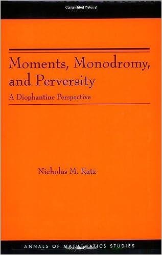 Download e-bog til Kindle pc Moments, Monodromy, and Perversity. (AM-159): A Diophantine Perspective. (AM-159) (Annals of Mathematics Studies) PDB B00CF5VM82