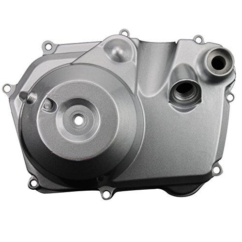 (GOOFIT Right Side Engine Motor Case Casing Cover for 50cc 70cc 90cc 110cc 125cc Dirt Bikes ATV Go Kart Pit Bike Quad 4 Wheeler Dune Buggy)