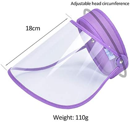 FEOYA Safety Face Shield Reusable Face Protective Visor Anti-Spitting Anti-Saliva Cover for Men and Women