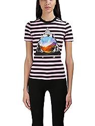 Givenchy Women S 17u7722499692 Black Pink Cotton T Shirt