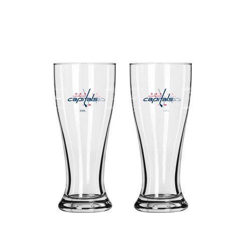 NHL Washington Capitals Mini Pilsner, 2.5-ounce, 2-Pack