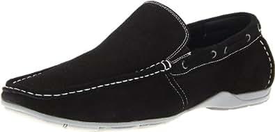 Steve Madden Men's Labelled Slip-On,Black,8 M US