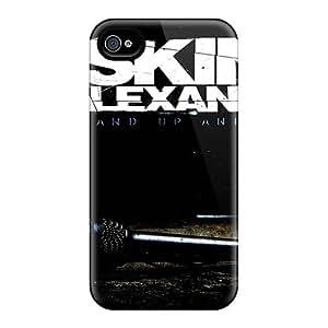Iphone 4/4s KGI2739jvDu Customized Lifelike Asking Alexandria Band Image Shock-Absorbing Hard Phone Covers -JamieBratt