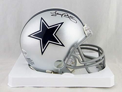 (Tony Dorsett Autographed Signed Dallas Cowboys Mini Helmet- Beckett Auth Black - Certified Signature)