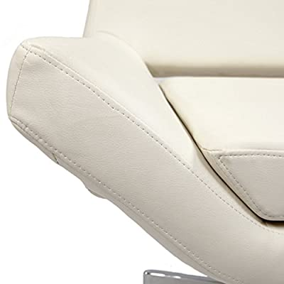 "Avenue Six Yield 40"" Wide Chair - White Vinyl"