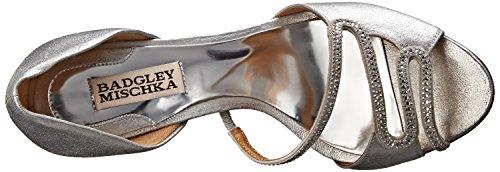 Badgley D'Orsay Women's Pump Silver Poloma Mischka S0rwAS