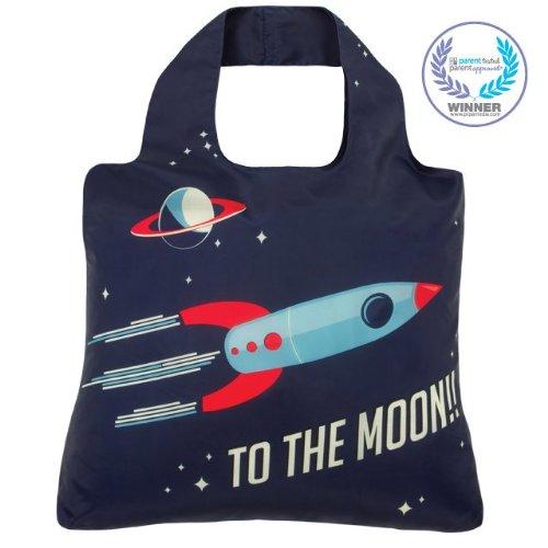 - Envirosax Kids Shopper,To The Moon,one size