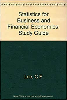 Statistics For Business And Financial Economics: Study Guide Epub Descargar