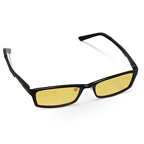 Daywalker Elan Blue Light Filtering Glasses - Protect your eyes from harmful junk - Dark Glasses True