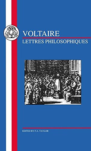 Voltaire: Lettres Philosophiques (French Texts)