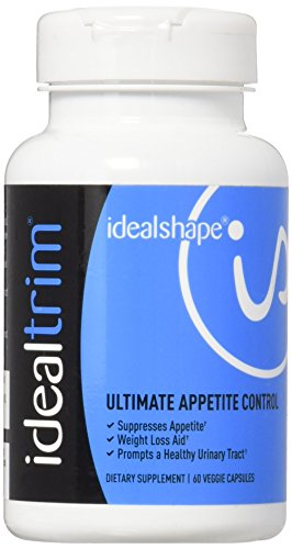 IdealTrim, Appetite Suppressant For Weight Loss - Slendesta and Garcinia Cambogia - Lose Water Weight, Control Hunger and Get More Energy - 30 Servings