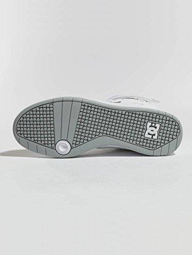 DC Shoes Pensford, Scarpe da Skateboard Uomo Bianco (White Wht)