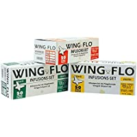 Wingflo 0.8 x 20 mm 21G, Green, 50
