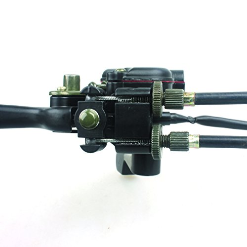 Wingsmoto Thumb Throttle with Dual Brake Lever Assy for 50cc 90cc 150cc 250cc ATV Quad Roketa Taotao Sunl Kazuma by Wingsmoto (Image #4)'