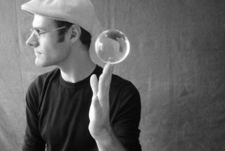 DSJUGGLING Dawson Juggling Clear Acrylic Contact Juggling Ball - Appx. 3'' - 75mm by DSJUGGLING (Image #3)